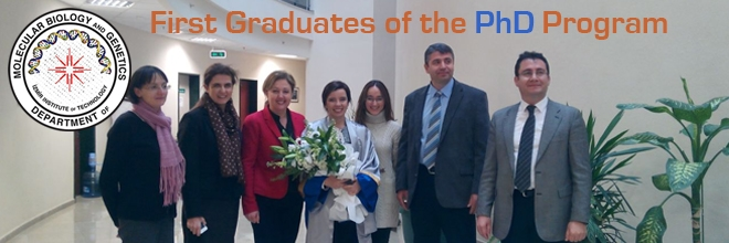 First Graduates of Our PhD Program