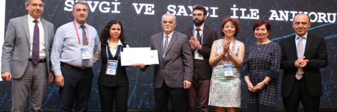 "Our PhD student Seçil Akyıldız Demir receives the ""Prof.Dr.Sultan Aydoğdu"" Research Paper Award"